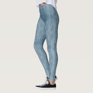(denim jeans) leggings