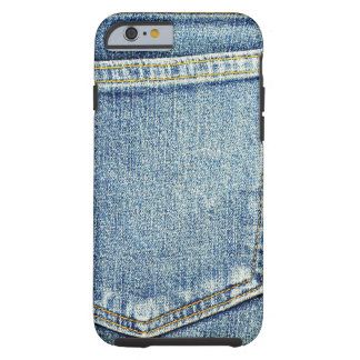 Denim Jeans Pocket Blue Fabric style fashion rich Tough iPhone 6 Case