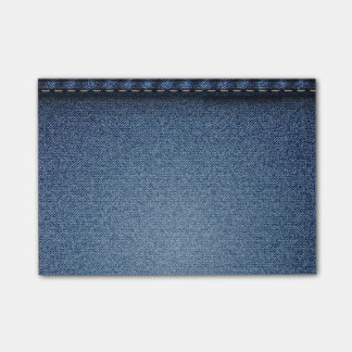 Denim Jeans Texture Post-it Notes