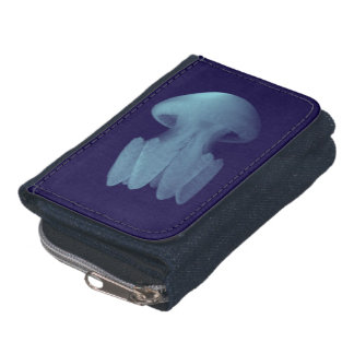 Denim Jellyfish Wallet / Purse