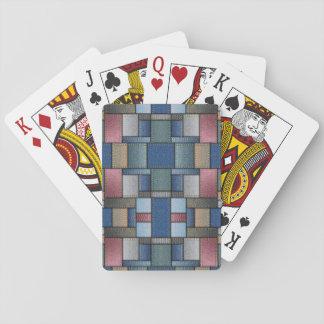 Denim Pattern Playing Cards