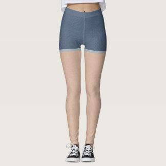 Denim Shorts Leggings