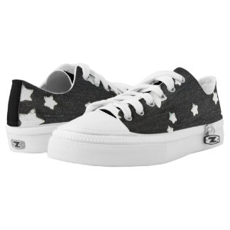 Denim Stars Low Tops