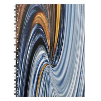 Denim Zipper Graphic Design Notebook