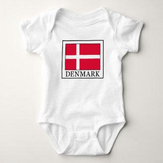Denmark Baby Bodysuit