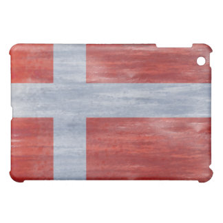 Denmark distressed flag case for the iPad mini
