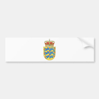 denmark emblem bumper sticker