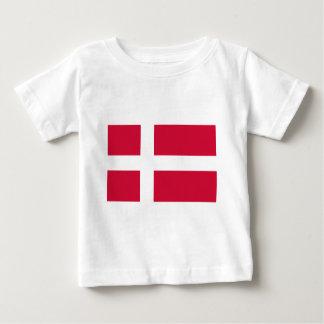 Denmark Flag Baby T-Shirt