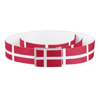 Denmark Flag Belt