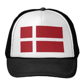 Denmark flag cap