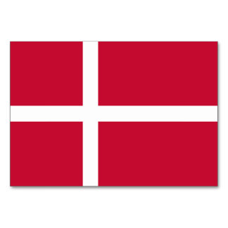 Denmark Flag Card