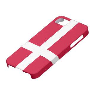 Denmark Flag Case For The iPhone 5