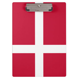 Denmark Flag Clipboard