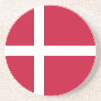 Denmark Flag Coaster