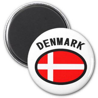 Denmark Flag Cool Design! Magnet