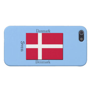 Denmark Flag iPhone 5/5S Cases