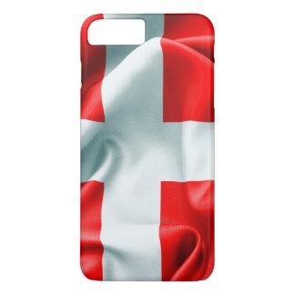 Denmark Flag iPhone 7 Plus Case