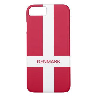 Denmark Flag iPhone Case