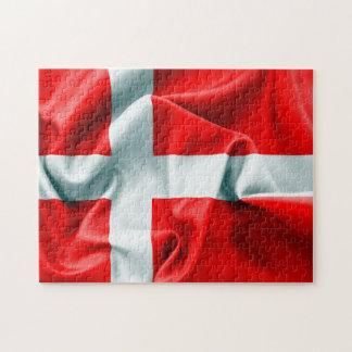 Denmark Flag Jigsaw Puzzle
