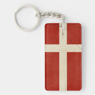 Denmark Flag Key Chain Souvenir
