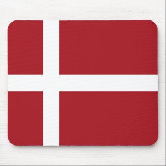 Denmark flag mouse pad