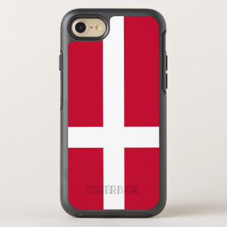 Denmark Flag OtterBox Symmetry iPhone 8/7 Case