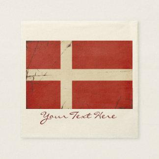 Denmark Flag Party Napkins Disposable Serviette