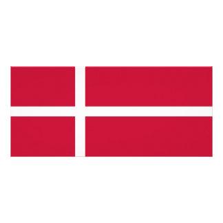Denmark Flag Rack Card