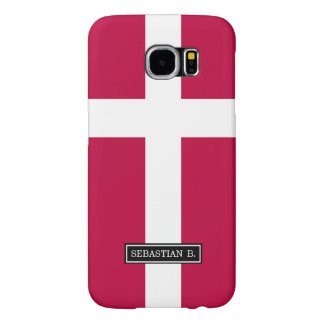 Denmark Flag Samsung Galaxy S6 Cases