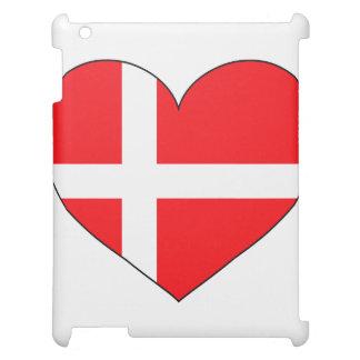 Denmark Flag Simple Cover For The iPad