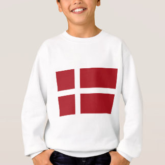 Denmark flag sweatshirt