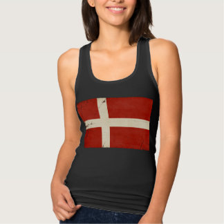 Denmark Flag Tank Top