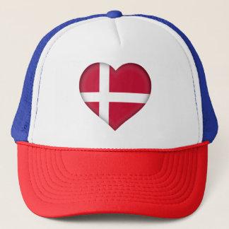 Denmark Flag Trucker Hat