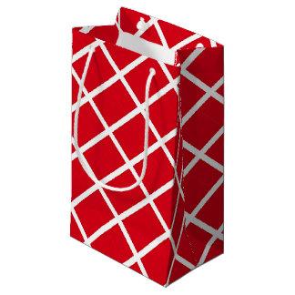 Denmark Inspired Flag Pattern Small Gift Bag