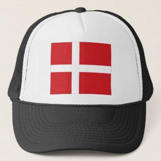 Denmark National Flag Trucker Hat