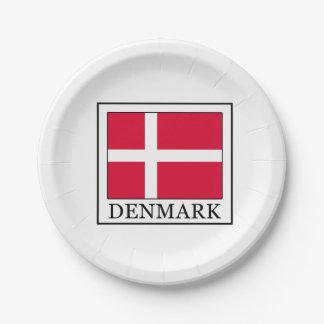 Denmark Paper Plate