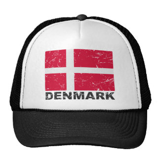 Denmark Vintage Flag Cap