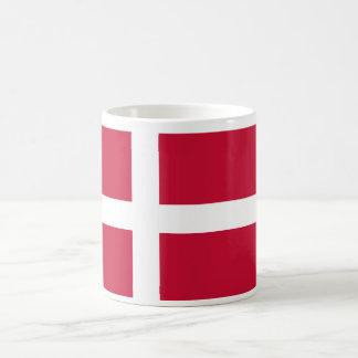 Denmark World Flag Basic White Mug
