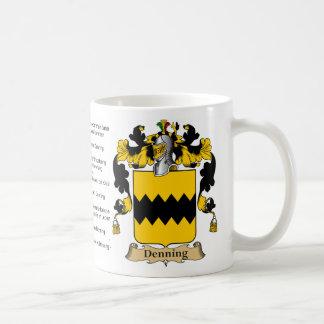 Denning (special) coffee mugs