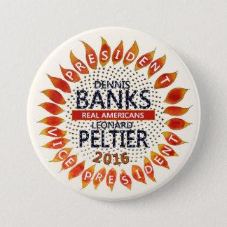 Dennis Banks for President 2016 7.5 Cm Round Badge