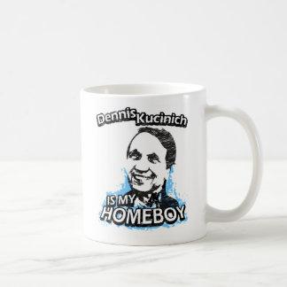 Dennis Kucinich is my homeboy Basic White Mug