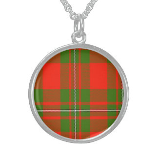 Dennison Scottish Tartan Sterling Silver Necklaces