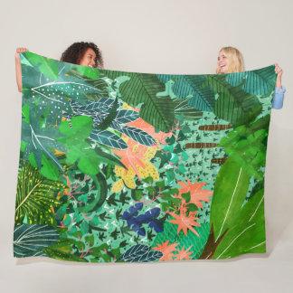 Dense Forest Fleece Blanket