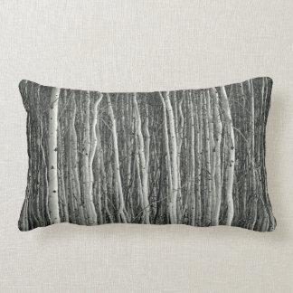 dense woods pillow (aspen tree grove)