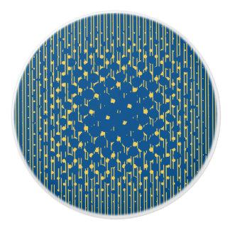Density Design - Blue & Yellow - Drawer Knob