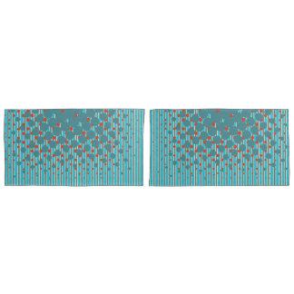 Density Design in New Zealand Colors Pillowcase