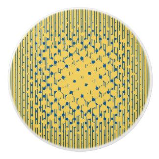 Density Design - Yellow & Blue - Drawer Knob