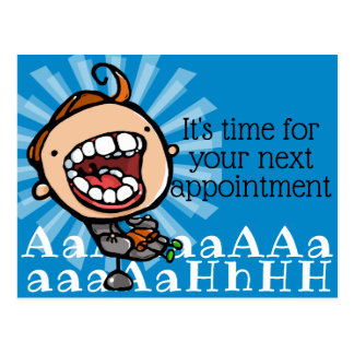 Dental Appointment Reminder Customizable Promo Postcard