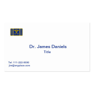 Dental Assistant Business Card