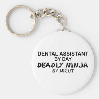Dental Assistant Deadly Ninja Keychains